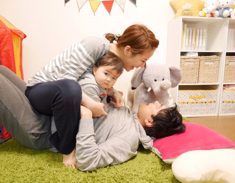 井川さんご家族の写真